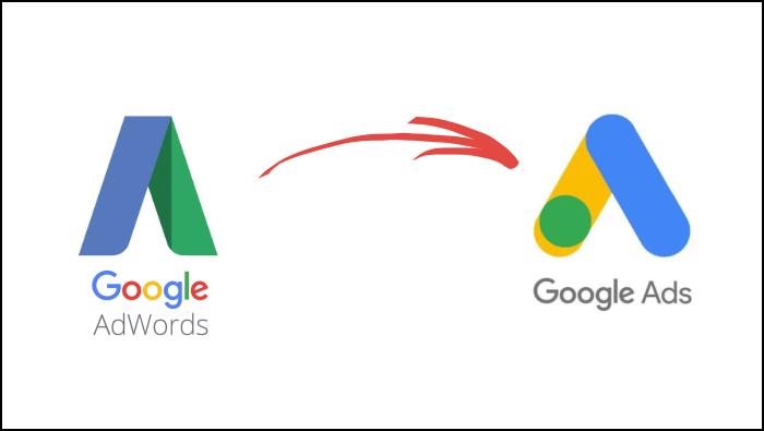 Zmiana Google Adwords na Google Ads
