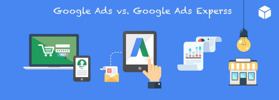 Porównanie Google Ads i Google Ads Express